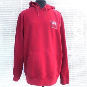 Vans Red Hoodie Sz Large EUC